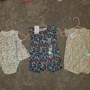 NWT Bundle set of three 3 mo outfits